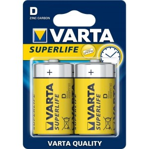Bateria R20 D Superlife Varta 2szt.