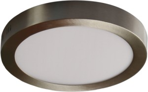 Plafoniera LED 12W Lido chrom mat Lumilight